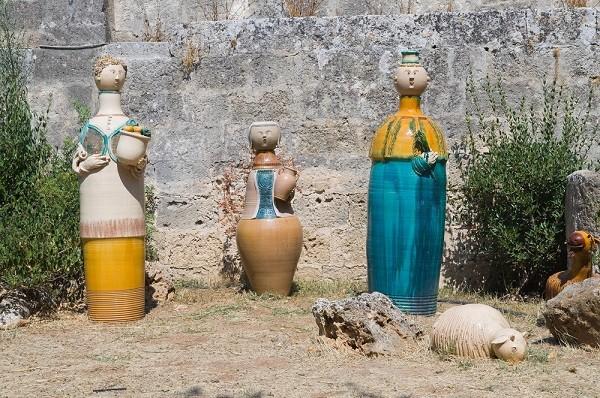 Grottaglie-keramiek-kerststal