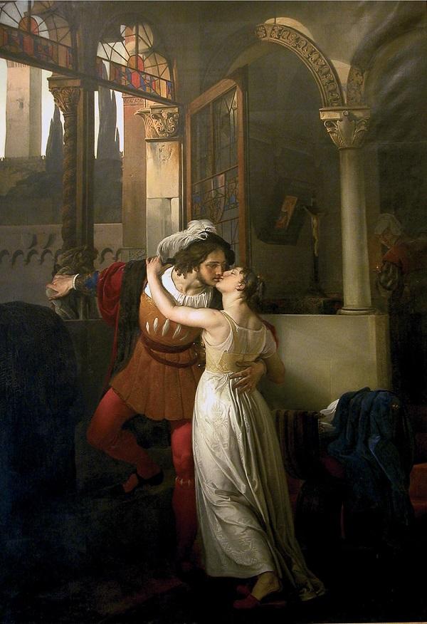 Citaten Uit Romeo En Julia : De drie beroemde baci van francesco hayez ciao tutti