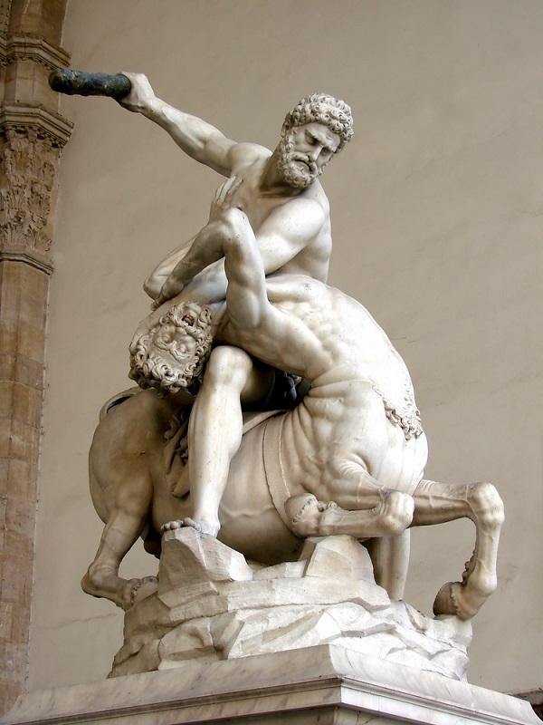 Hercules-Centaur-Giambologna-Florence