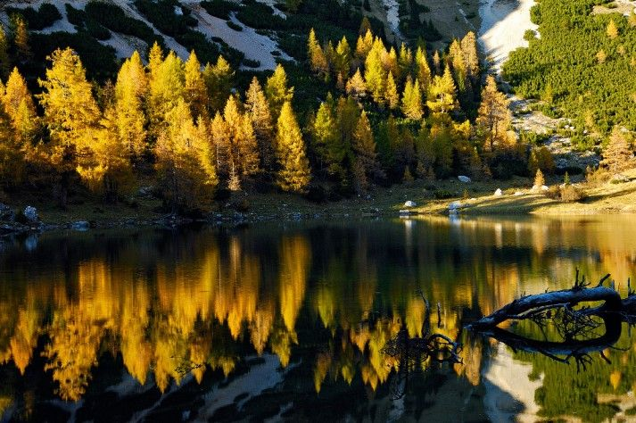 Herfst-Meren-Friuli