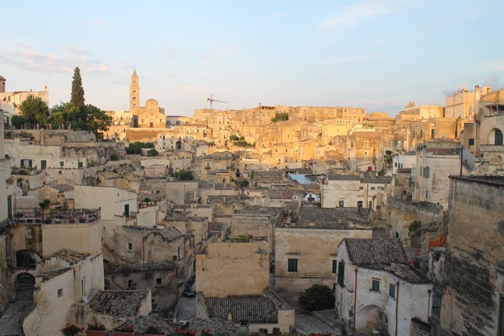 Het avondlicht over de sassi van Matera - Basilicata