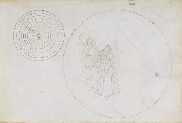 """Illustration zu """"Die Göttliche Komödie"""" - Paradiso II."""