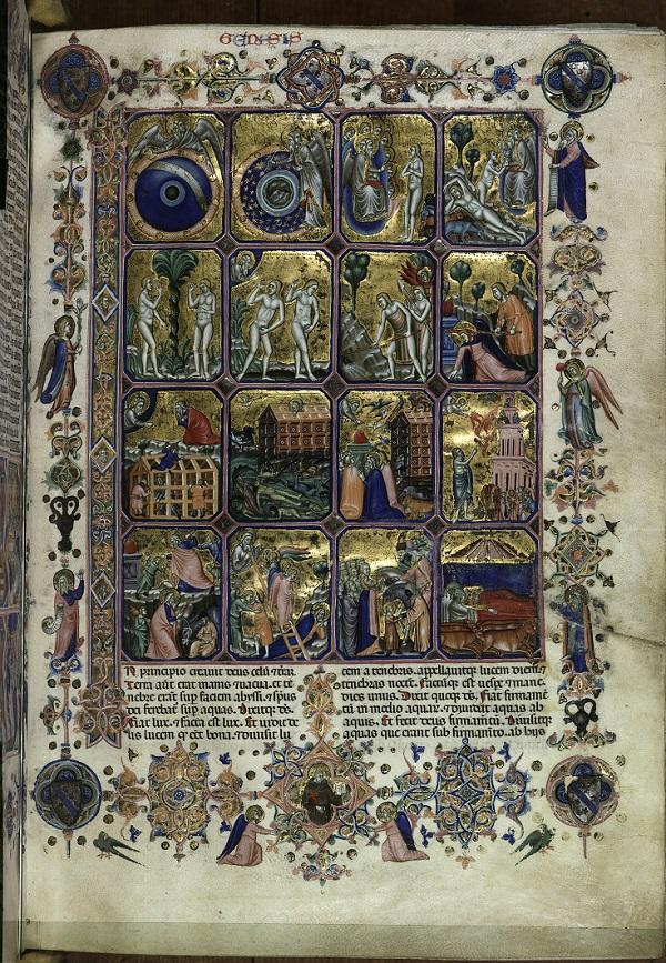 Die Schöpfungsgeschichte bis zum Traum des Pharaos