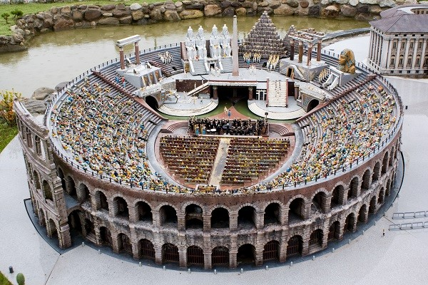 Arena of Verona in miniature