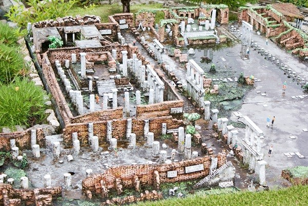 Excavations of Pompei in miniature Park, Rimini