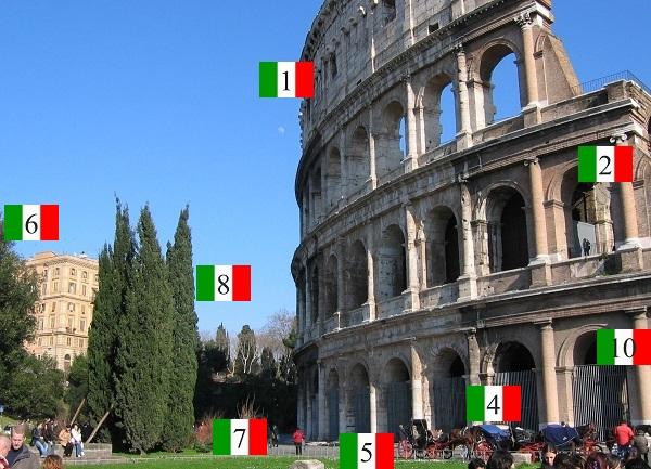 Italiaans-in-beeld-Colosseum