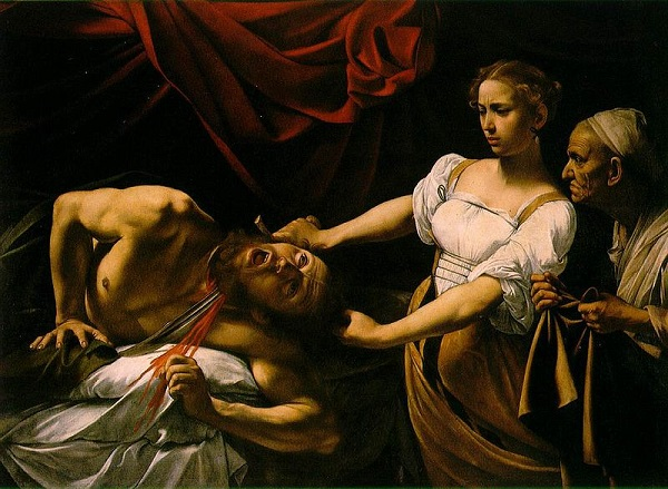 Judith-onthooft-Holofernes-Caravaggio