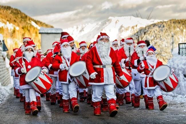 Kerstmannen-Friuli