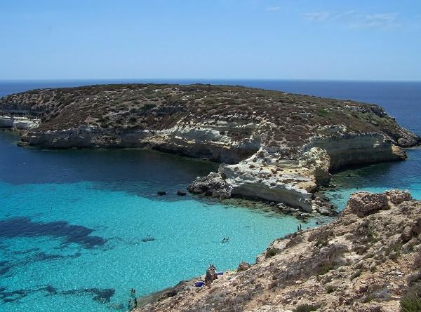 Lampedusa-Conigli-strand