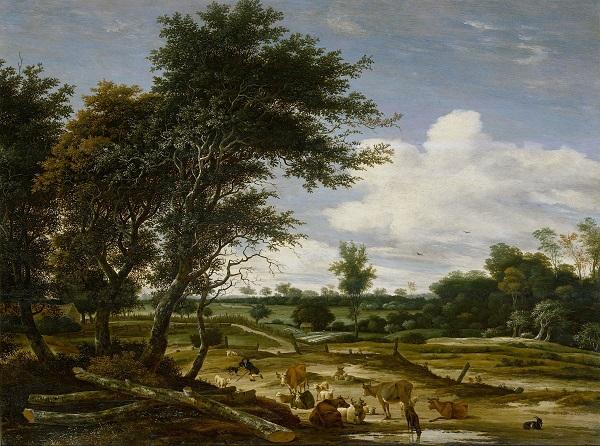 Landschap-Italië-Jacob-Ruysdael-Rijksmuseum-Amsterdam