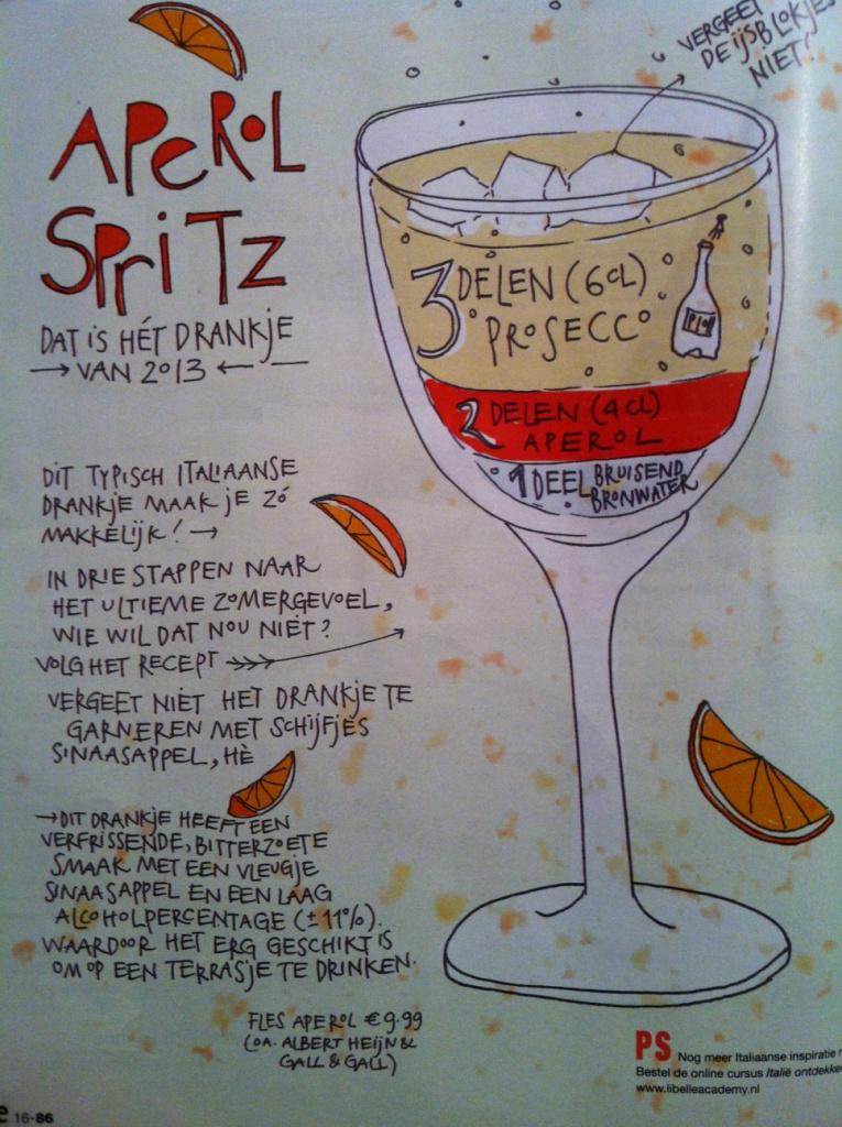 Libelle-Aperol