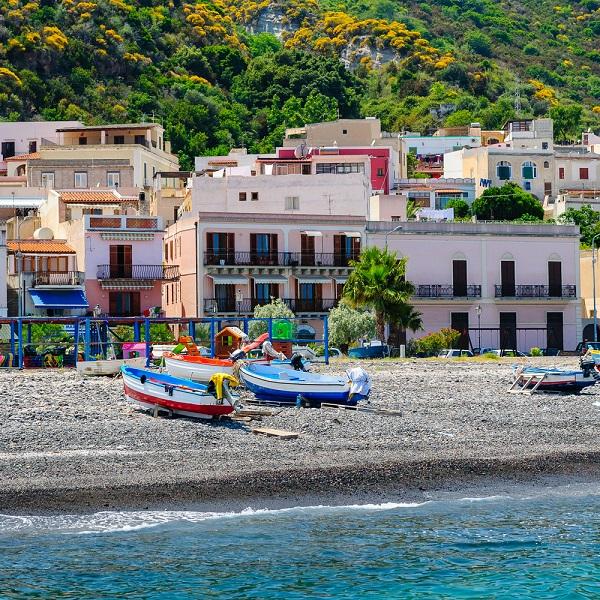 Lipari-strand-Sicilië