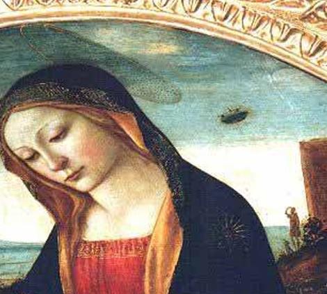 Madonna-met-de-ufo-detail