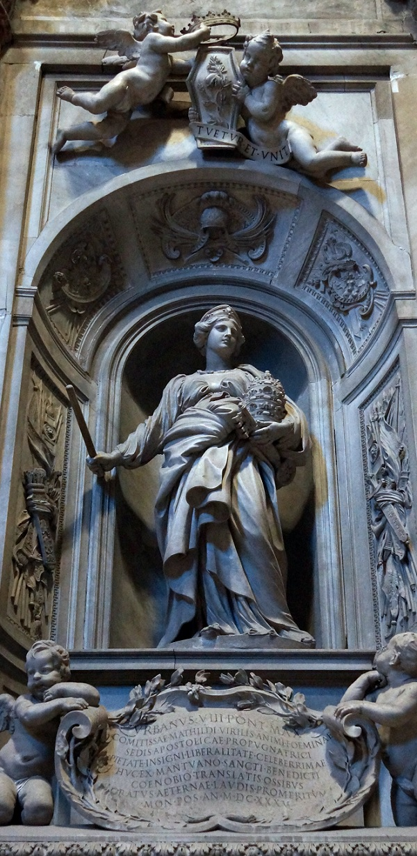 Matilda-Canossa-Sint-Pieter-Rome