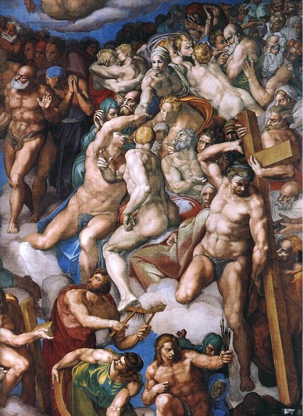 Michelangelo-Laatste-Oordeel-Sixtijnse-Kapel