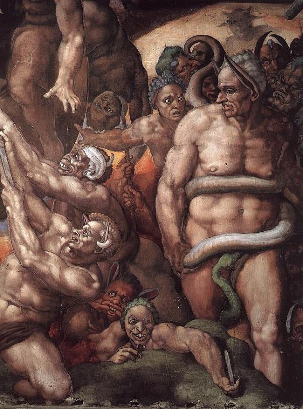 Michelangelo-Sixtijnse-Kapel-Laatste-Oordeel-2