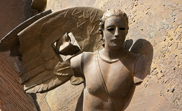Mitoraj-engel-Santa-Maria-Angeli-Martiri-Rome