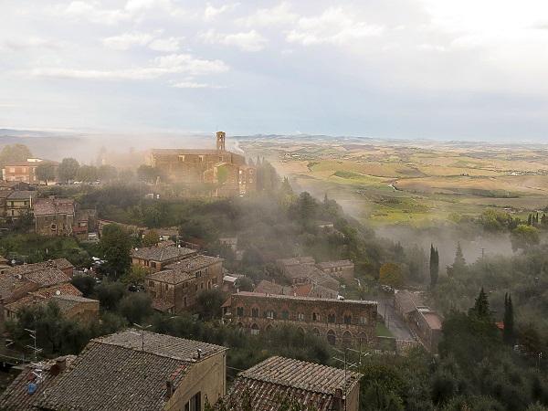 Montalcino-uitzicht