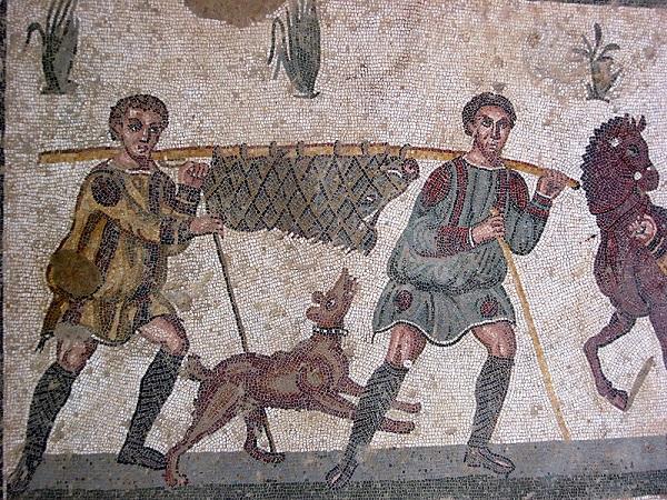 Mozaiek-Villa-Romana-Casale-Sicilie (1)