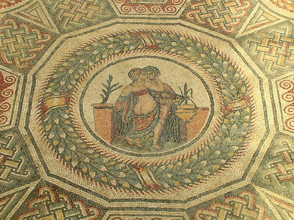 Mozaiek-Villa-Romana-Casale-Sicilie