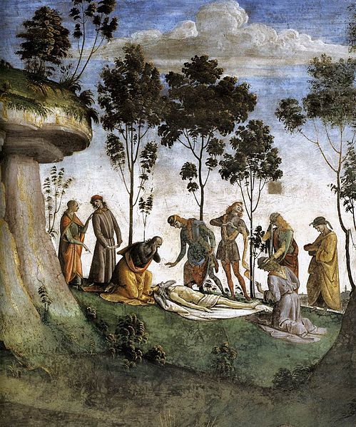 Mozes Signorelli detail