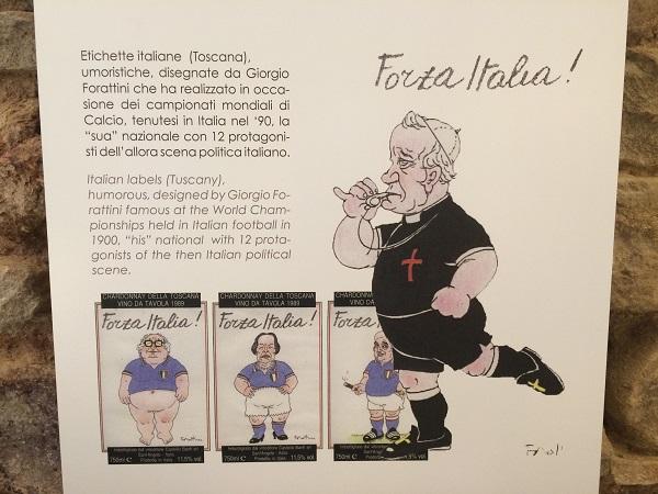 Museo-in-Grotta-Cupramontana-Le-Marche-wijn-etiketten-Forza-Italia (1)