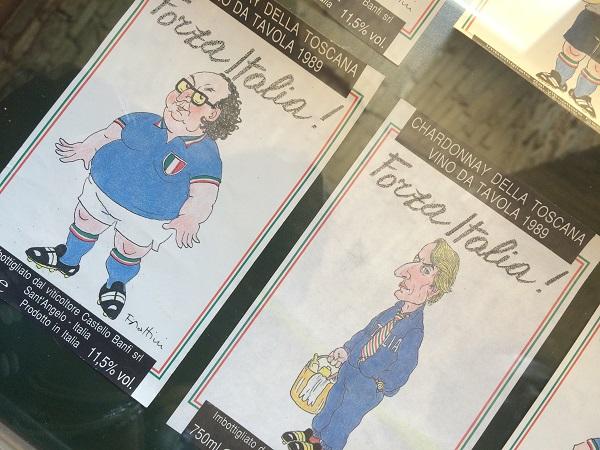 Museo-in-Grotta-Cupramontana-Le-Marche-wijn-etiketten-Forza-Italia (2)