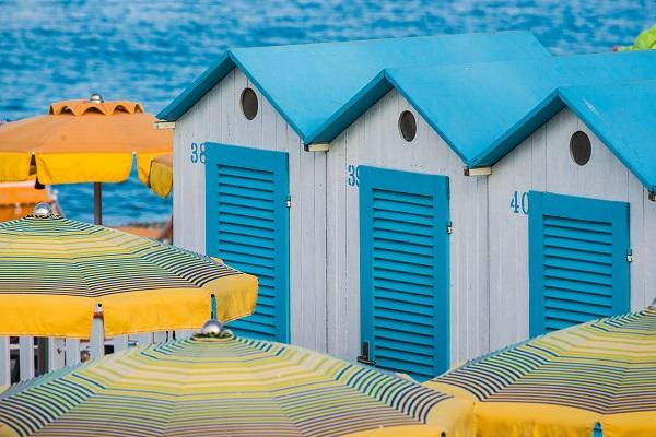 Noli-strand-Ligurië