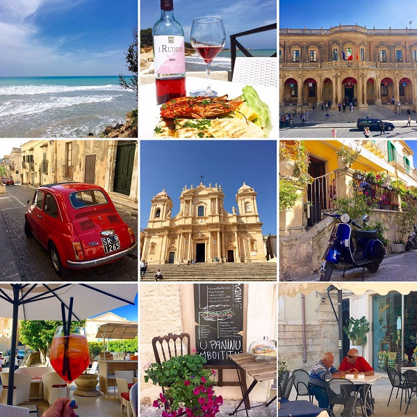Noto-Sicilië-collage