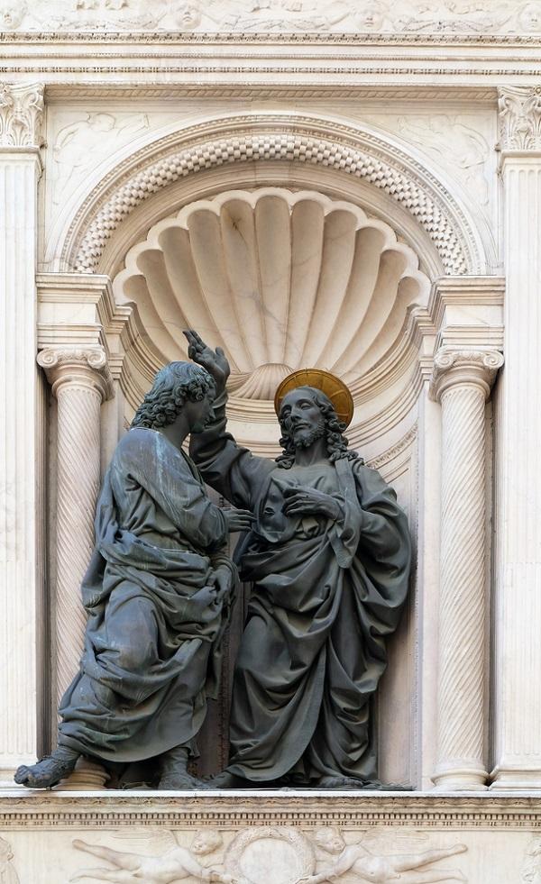 Orsanmichele-Florence-Verrocchio-Ongelovige-Thomas