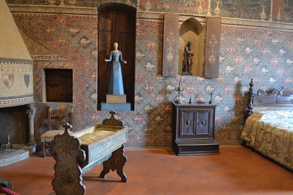 Palazzo-Davanzati-slaapkamer