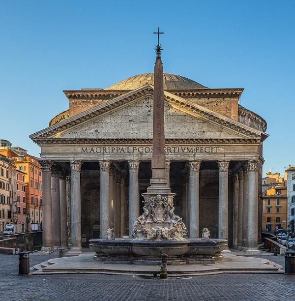 Pantheon-Rome-fontein
