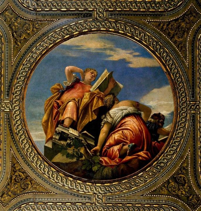 Paolo Veronese, Aritmetica e Geometria, Venezia, Biblioteca Marciana