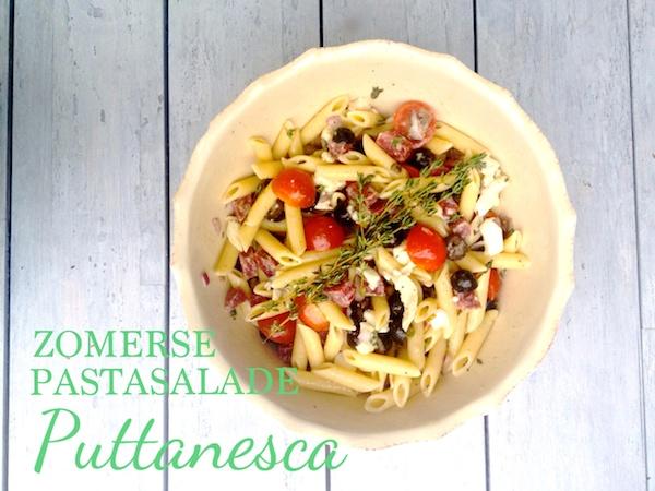 Pastasalade-puttanesca