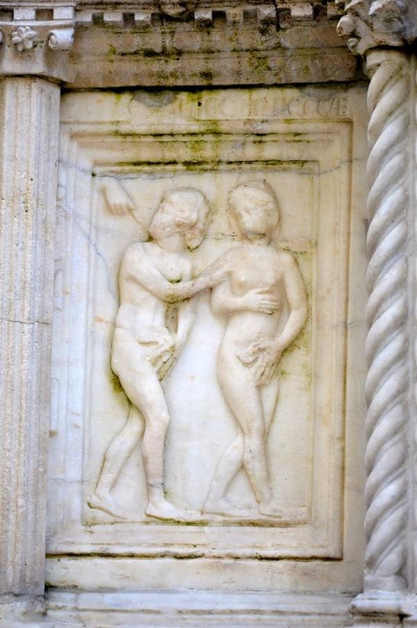 Perugia-Fontana-Maggiore-Adam-Eva