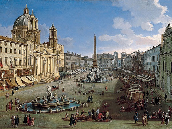 Piazza-Navona-Rome-Casper-van-Wittel