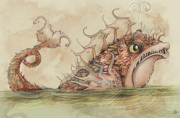 Pinokkio-Efteling-monstervis-Sprookjesbos