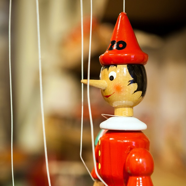 Pinokkio-sprookjes-Italië