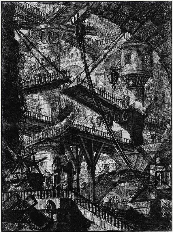 Piranesi-Le Carceri-Invenzione-1