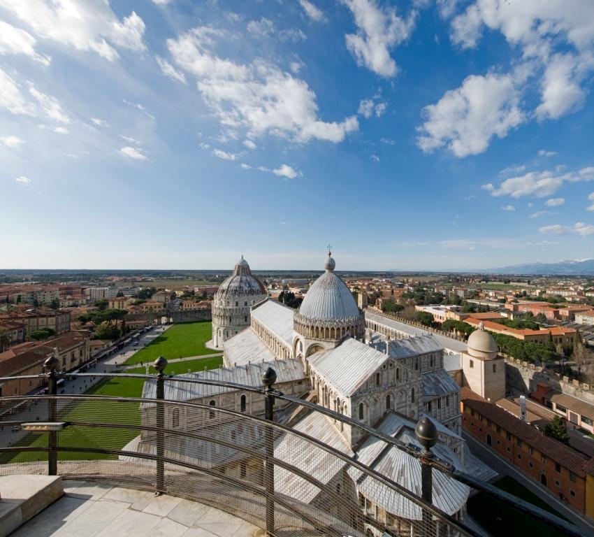 Pisa, Duomo visto dalla Torre Pendente (by Massimo Lenzo)