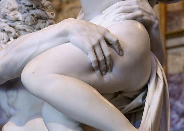 Pluto-Proserpina-Bernini-Galleria-Borghese-Rome-detail