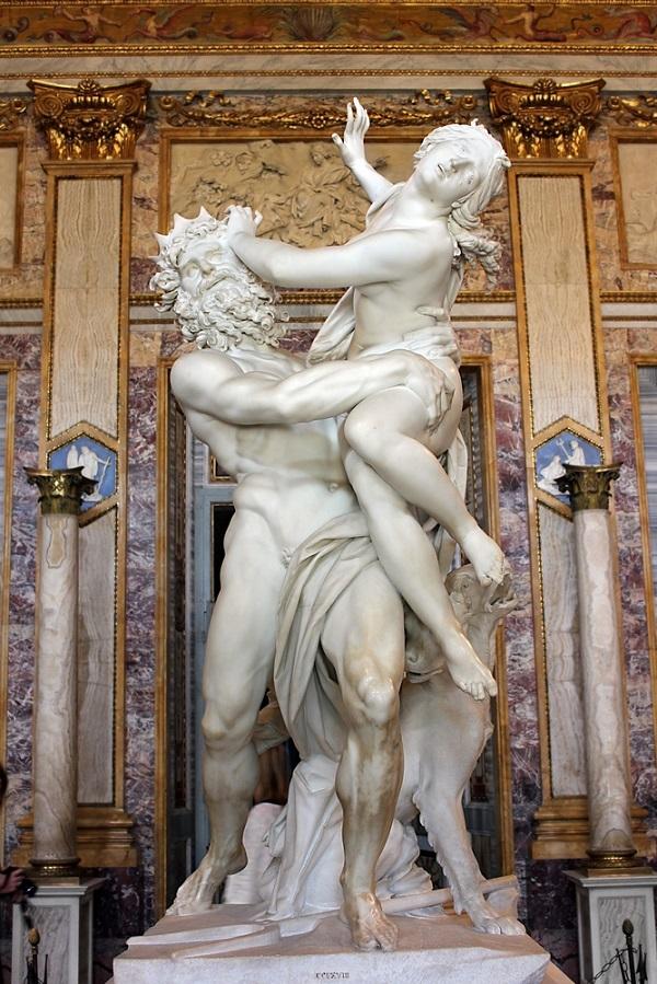 Pluto-Proserpina-Bernini-Galleria-Borghese-Rome