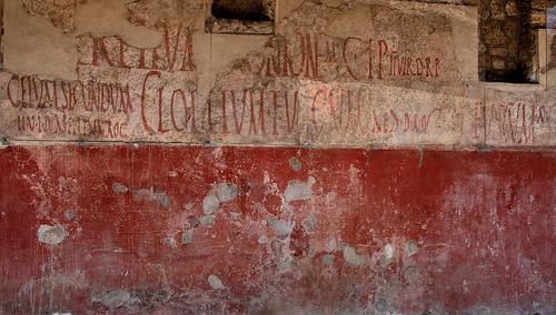 Pompeii detail