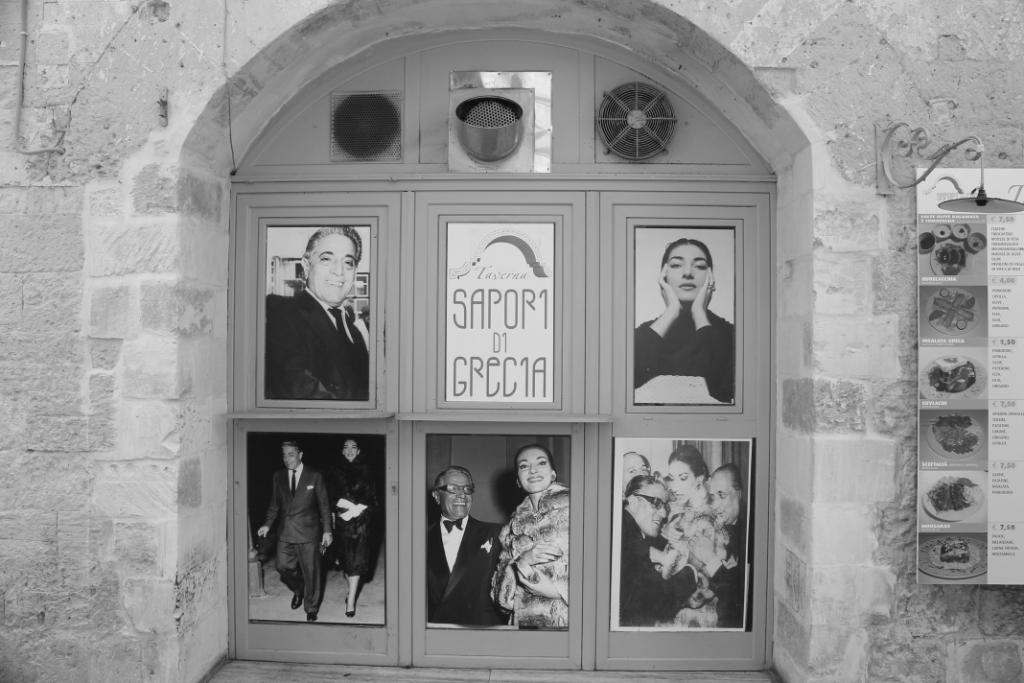 Poort van een Taverna in Lecce - Puglia