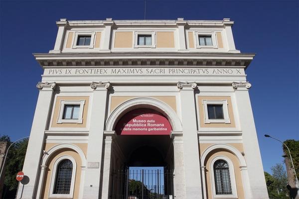 Porta-San-Pancrazio-Rome