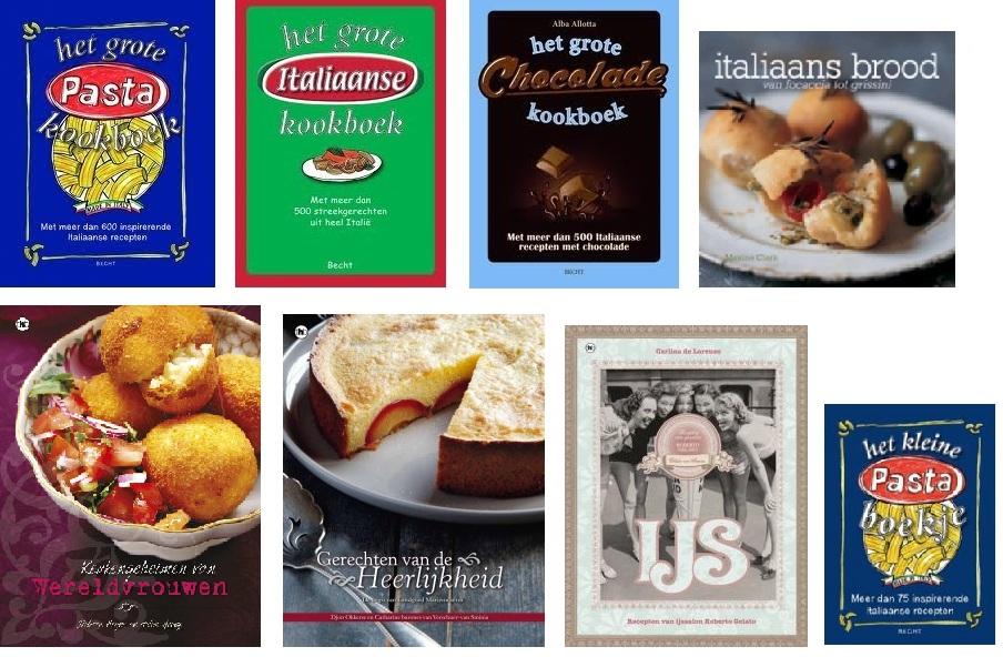 Portfolio - kookboeken