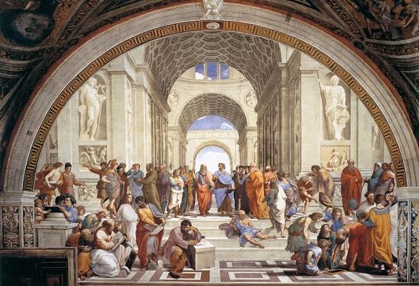 Rafaël-Stanza-della-Segnatura-Vaticaanse-Musea-School-van-Athene (1)