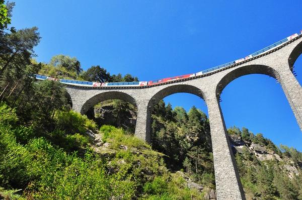 Rhätische Spoorweg (4)
