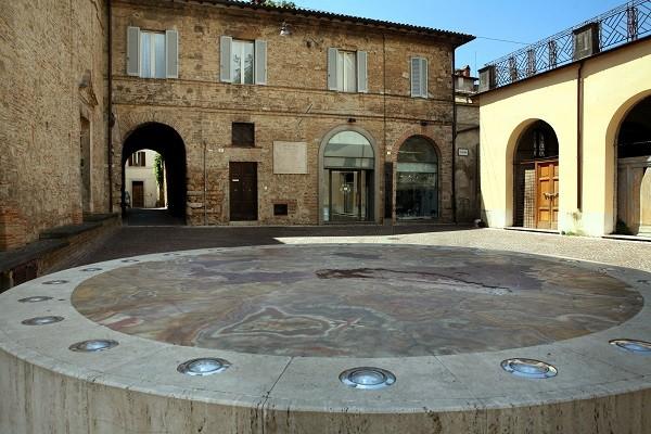 Rieti-middelpunt-Italie
