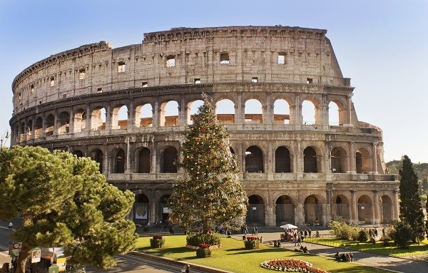 Rome-Colosseum-kerstboom